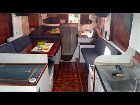Interior Tour: 46' Norman Cross Trimaran - Cruising TV